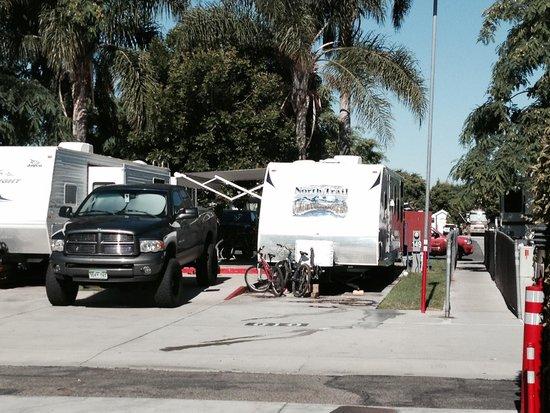 Anaheim RV Park : Site