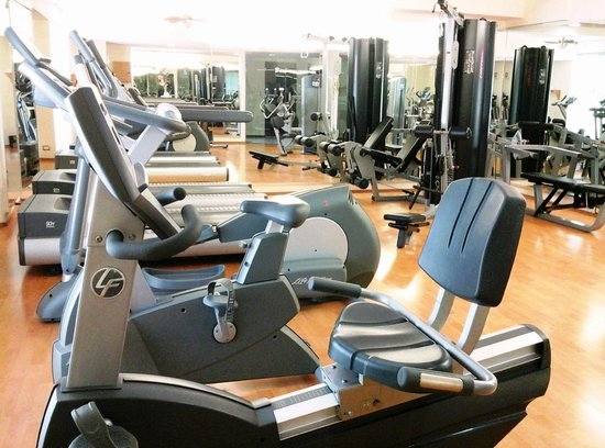 Hotel El Conquistador : gimnasio