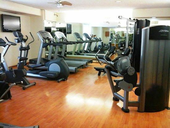 Hotel El Conquistador: gym