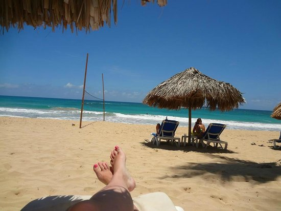 Excellence Punta Cana: Ahhh. View from our tiki hut.