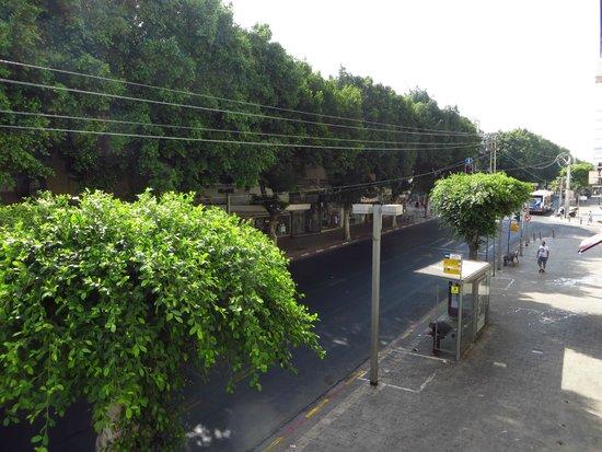 Sun City Hotel : view from my balcony to Alenbi street