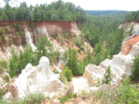 Plains Historic Inn: Providence Canyon State Park in Montezuma, GA