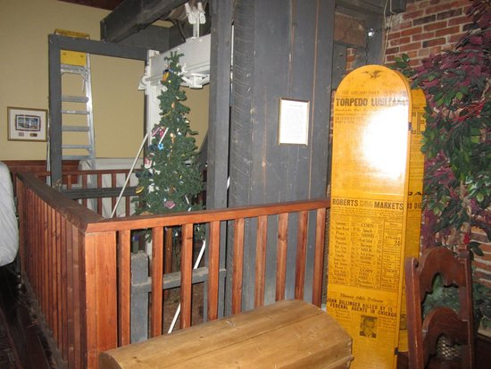 The Wooden Elevator That Hoisted Caskets in the Plains Historic Inn