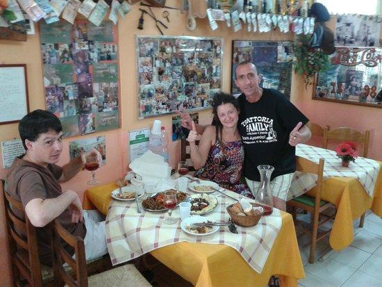 Trattoria Familiare da Michele & Jolanda: Salute !