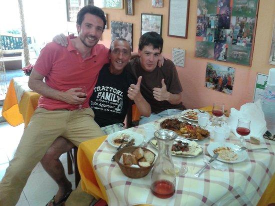 Trattoria Familiare da Michele & Jolanda: 2 francesi e 1 palermitano