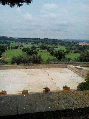 Aqua Mater Ristorante di Alta Cucina Italiana: Vista panoramica campo da golf