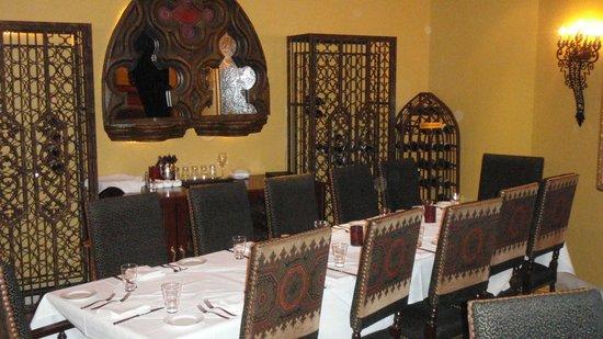 Costa Brava: The wine room