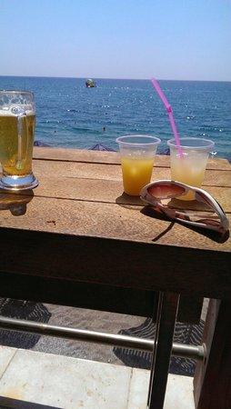 Kolymbia Beach Hotel: plaża
