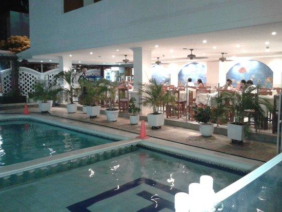 Hotel Tayrona: Restaurante