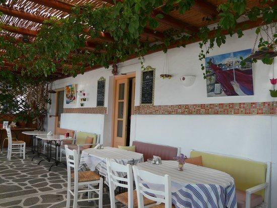 To Spitiko: la terrasse
