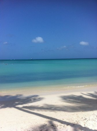 Holiday Inn Resort Aruba - Beach Resort & Casino : Praia em frente ao hotel