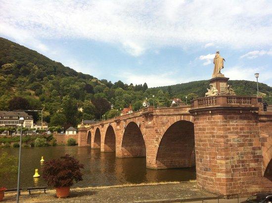 Carl Theodor Old Bridge (Alte Brucke): The bridge