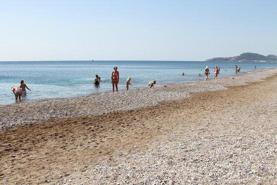 Rodos Palladium : Прекрасный пляж и море