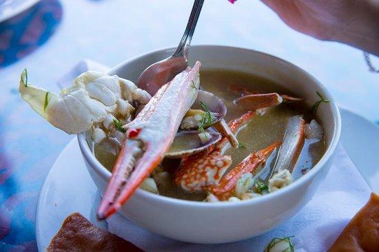 Friends: Суп с морепродуктами
