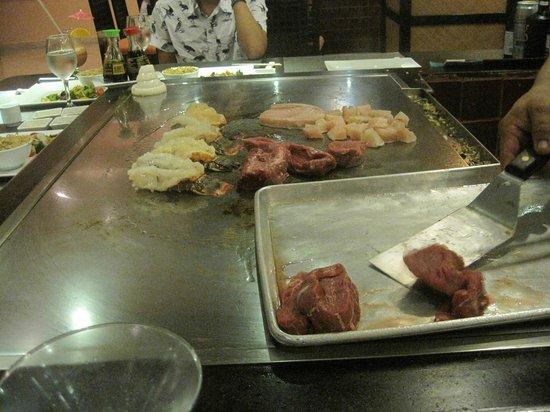 Barcelo Maya Colonial: Kyoto restaurant