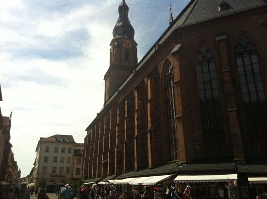 Altstadt (Old Town): Church of the Holy Spirit