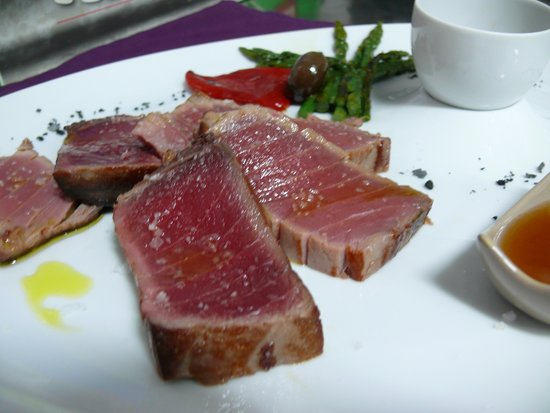 Restaurante El Navazal: Lomo de Atún Rojo.