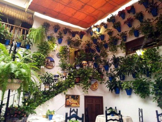 Taberna Restaurante Puerta Sevilla: El patio Cordobés con su sabor especial