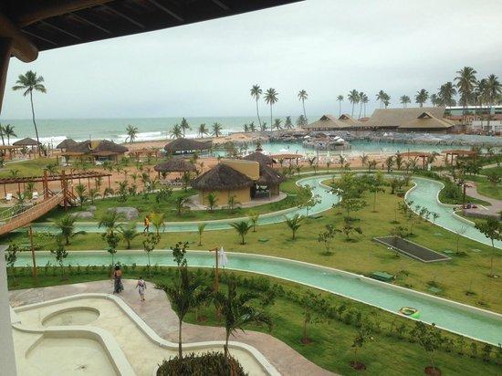 Enotel Acqua Club - Porto de Galinhas: Vista do quarto de dia para a area de piscina em destaque para a piscina de boia