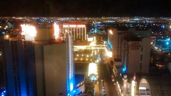 Plaza Hotel & Casino: Vista noturna