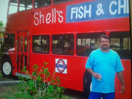 Shell's Double Decker Fish & Chips : double decker