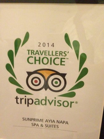 Sunprime Ayia Napa Suites: Best hotel in Ayia Napa without a doubt