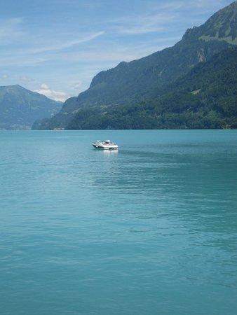 Brienzersee: Lake Brienz at Bonigen