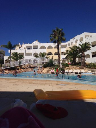 Natura Algarve Club: the pool