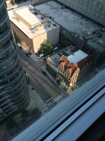 Residence Inn Chicago Downtown/River North: Another View - Harry Caray's on the corner