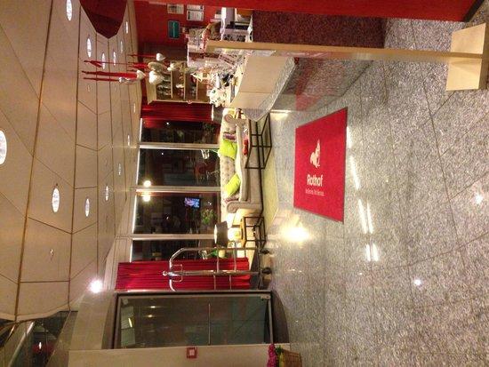 Hotel Rothof : Reception area