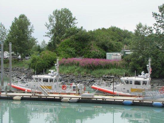 Best Western Valdez Harbor Inn: View from the room