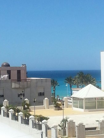 Hotel Almijara: veiw from our room