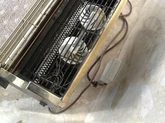 Hallmark Hotel Bournemouth Carlton: the wires at the back of the heater in the suite were exposed