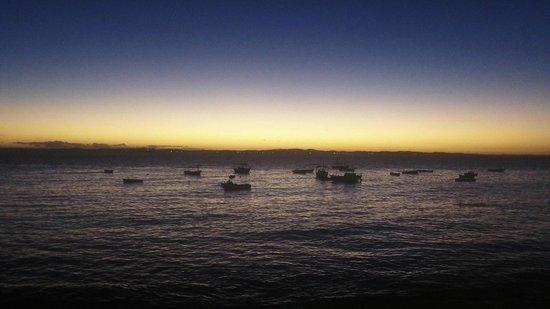 Praia do Porto da Barra: Por do sol no Porto da Barra em Salvador, BA