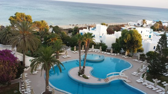 Sol Azur Beach Hotel: view from our balcony