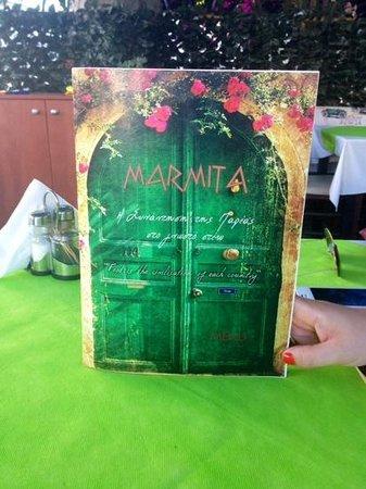 Menu Marmita
