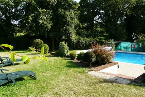 Fauxquets Valley Farm Camping : piscine