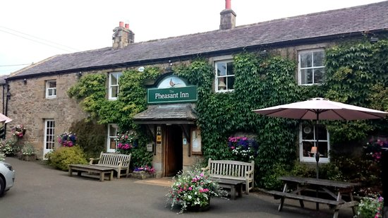 The Pheasant Inn: The front view