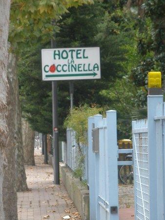 Hotel La Coccinella: Easy to find