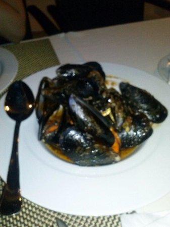 Restaurante Las Olas: Mejilones marinera