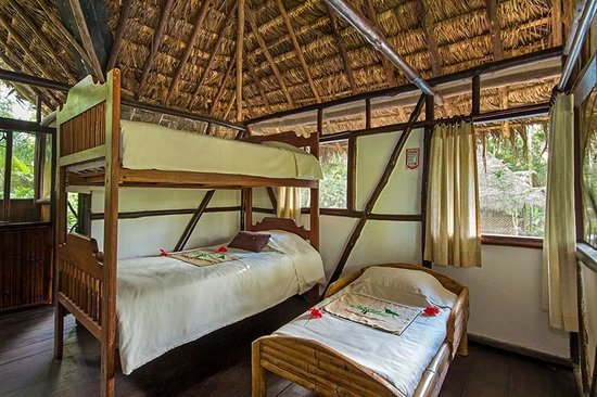 Cotococha Amazon Lodge: Cabañas triples