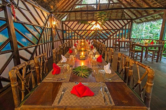 Cotococha Amazon Lodge: Restaurante para grupos