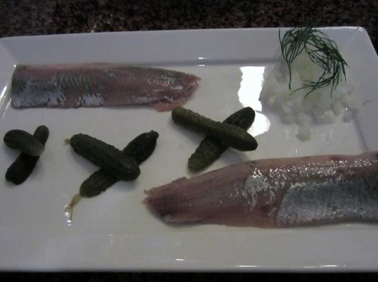 Lucius Seafood Restaurant: Smoked Herring