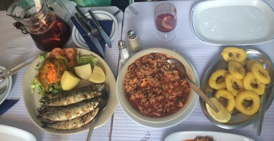 Restaurante Dom Pedro I : grilled sardines