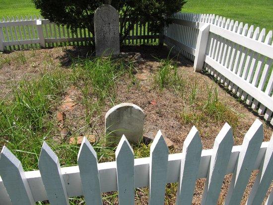 Newport News, Wirginia: private grave yard