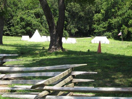 Newport News, Wirginia: military camp site