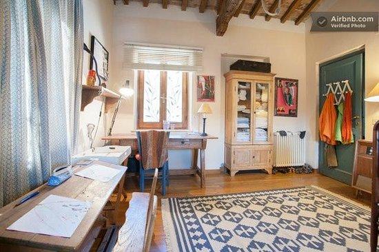 Casale Hortensiae: Camera famiglia