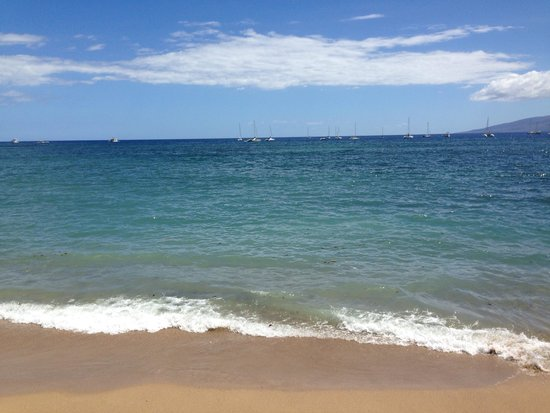 Kihei Kai Oceanfront Condos: Footsteps from the condo.