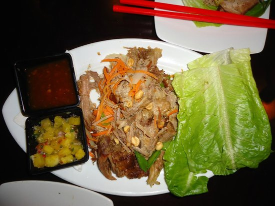 Dragonfly: Pork Lettuce Wraps