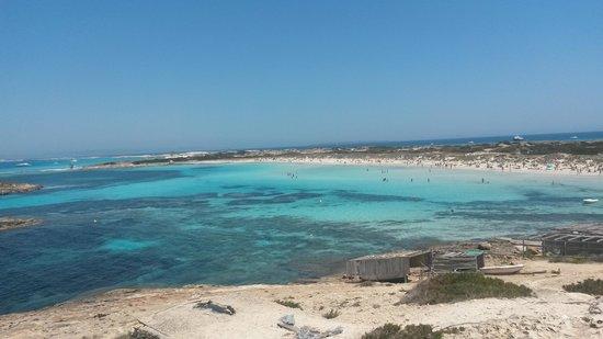 Playa de Ses Illetes: i suoi colori